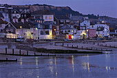 Waterfront at Dusk, Lyme Regis, Dorset England