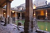 Roman Baths, Bath, Somerset England