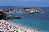 Porthminster Beach, St Ives, St Ives, Cornwall England