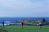 Newquay Golf Course, Newquay, Cornwall, England, Great Britain
