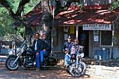 Harleys at Luckenbach, Luckenbach, Texas USA