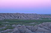 Big Badlands Overlook, Badlands NP, South Dakota USA