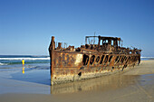 Maheno Shipwreck, Fraser Island Queensland, Australia