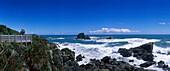 Tasman Sea Coastline at Cape Foulwind, Cape Foulwind, West Coast, South Island, New Zealand