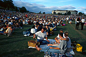 Picnic, Sky City Starlight Symphony Auckland Domain, New Zealand