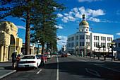Marine Parade, A& B Building, Napier, Hawkes Bay, North Island New Zealand