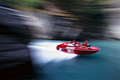 Shotover Jet, Jetboating on Shotover River, near Queenstown , South Island New Zealand