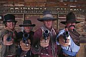 Helldorado Gunslingers, Tombstone Arizona, USA