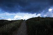 Dunes & Stormclouds, Near Borsmose, Southern Jutland, Denmark