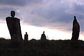 Stone Sculptures, Artist: Svein Knudsen, Hanstholm, Northern Jutland, Denmark