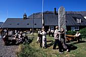 Icelandic Folklore Dancing, Turnhus Maritime Museum, Ísafjörður, Isafj'rdur, Ísafjarðarbær, Iceland