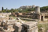 Ancient Agora & Acropolis, Athens, Greece