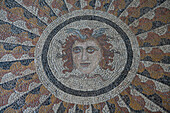 Mosaic Floor, the Palace of the Grand Master of the Knights of Rhodes, Old Town, Rhodes, Dodecanese Islands, Greece