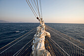 Star Flyer Bowsprit, Aegean Sea, Turkey