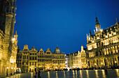 Zunfthaeuser, Grand Place, Rathausplatz Bruessel, Belgien, Europa