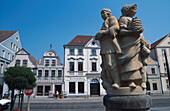 Altmarkt, Cottbus, Brandenburg, Deutschland Europa