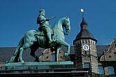 Equestrian Statue of Jan Wellem, Town Hall, Dusseldorf, North Rhine Westphalia