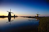 Windmuehlen, Kinderdijk Niederlande