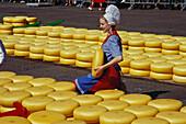 Kaesemarkt, Alkmaar, Niederlande