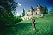 Castle Buerresheim near Mayen, Eifel, Rhineland-Palatinate, Germany