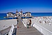 Seaside Resort Sellin, Rugen Island, Mecklenburg-Western Pomerania, Germany