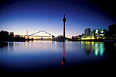 Duesseldorf, bonded port, North Rhine-Westphalia Germany