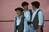 Folklorefest, Cambo-les-Bains, Baskenland Frankreich