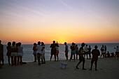 Watching sundown in the dunes, Jericoacoara Brazil