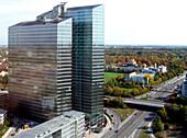 Highlight Business Towers, Munich Business Towers, Muenchen, Munich, Bavaria, Germany, Helmut Jahn