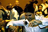 Flamenco party, Lo Nuestro, Seville, Andalusia, Spain