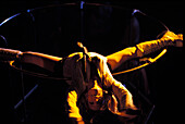 Dancer at Exquinox Nightclub, Soho, London, England, Great Britain, Europe