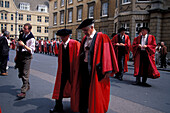 Honory Degree Procession, Oxford Great Britain