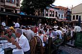 Fish restaurants, Ortakoey, Istanbul Tuerkei