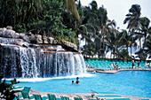 People at the pool of Acapulco Princess hotel, Acapulco, Guerrero, Mexico, America