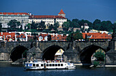 Charles Bridge, Hradcany, Prague Czechia