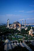 Hagia Sophia, Sultan Ahmet Park, Istanbul, Turkey