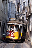 Electrico 28, Alfama Lisbon, Portugal