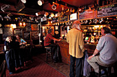 People at Admiral Benbow Pub, Penzance, Cornwall, Great Britain, Europe