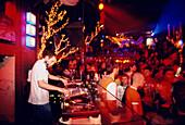 DJ, PlusSoda Nightclub, Exarchia Athens, Greece