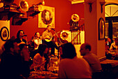 Palio Grammofono Restaurant, Greek music with diner, Psirri Athens, Greece