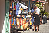 Terre-de-Haute, Les Saintes Islands, Shopping, Terre-de-Haute, Guadeloupe, Caribbean Sea, America