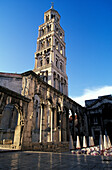 Cathedral, Diokletian Palace, architectural complex, UNESCO World Cultural Heritage, Split, Dalmatia, Croatia