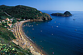 Spaggia L´Innamorata, Calamita, Elba, Toskana Italien
