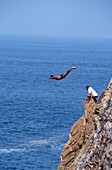Cliff jumping, Guerro, Acapulco, Mexico, Central America, North America