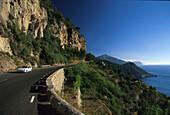 Coastal road near Banyalbufar, Majorca, Balearic Islands, Spain