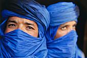 Tuareg, nomadic people, Tioute near Taroudant, Marocco