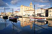 Hafen, Cesenatico, Emilia Romagna Italien