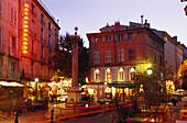 Place des Augustins, Aix-en-Provence, Bouches-du-Rhone Provence, Frankreich