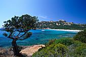 Küstenlandschaft, Plage de Roccapina, Westküste bei Sartène, Korsika, Frankreich