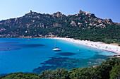 Beach, Plage de Roccapina, west coast near Sartene, Corsica, France